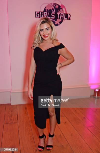Megan Barton Hanson attends Adwoa Aboah's Gurls Talk website launch party at Somerset House on October 12 2018 in London England