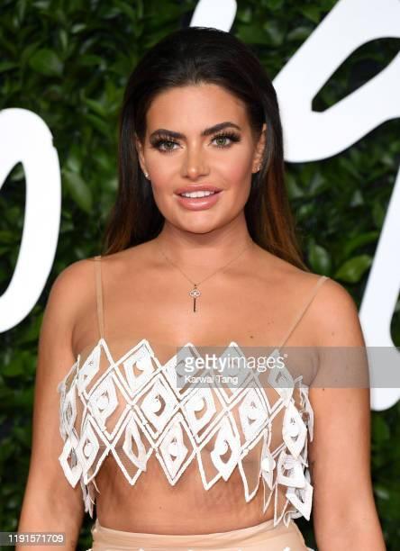 Megan Barton Hanson attends The Fashion Awards 2019 at the Royal Albert Hall on December 02, 2019 in London, England.