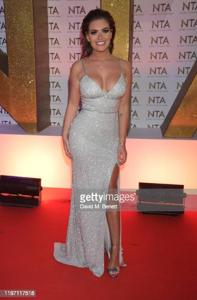 Megan Barton Hanson attends the National Television Awards 2020 at The O2 Arena on January 28, 2020 in London, England.