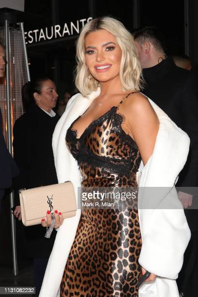 Megan BartonHanson attending the Sony BRITS 2019 After Party at Aquashard on February 20 2019 in London England