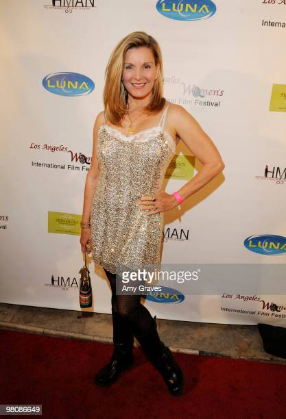 Megan Blake attends the Los Angeles Women's International Film Festival Opening Night Gala at Libertine on March 26 2010 in Los Angeles California