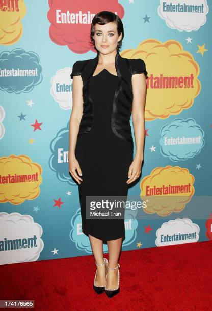Megan Boone arrives at the Entertainment Weekly's Annual ComicCon celebration held at Float at Hard Rock Hotel San Diego on July 20 2013 in San Diego...