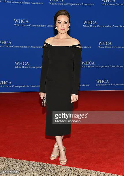 Megan Boone attends the 101st Annual White House Correspondents' Association Dinner at the Washington Hilton on April 25 2015 in Washington DC