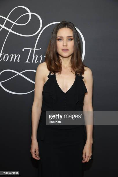 Megan Boone attends the New York Premiere of Phantom Thread at Harold Pratt House on December 11 2017 in New York City