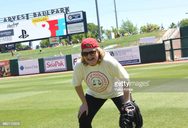 Megan Cavanagh attends 'A League of Their Own' 25th Anniversary Game at the 3rd Annual Bentonville Film Festival on May 7 2017 in Bentonville Arkansas
