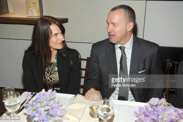 Megan DiCiurcio and Edward Menicheschi attend DAVID YURMAN and VANITY FAIR Luncheon to Benefit FREE ARTS NYC at David Yurman Townhouse on May 12 2010...