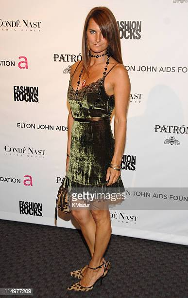 Megan DiCiurcio of Dolce Gabbana at Conde Nast Media Group presents Elton John and the debut of his new album 'The Captain The Kid' at the official...