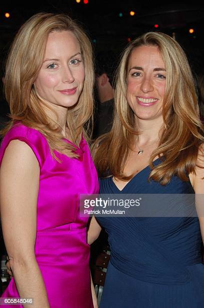 Megan Dodds and Katharine Viner attend My Name Is Rachel Corrie opening night AfterParty at B Bar NYC on October 15 2006