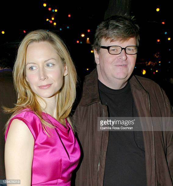 Megan Dodds and Michael Moore