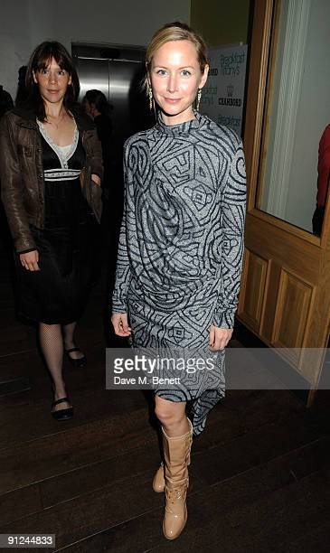 Megan Dodds attends the afterparty following the press night of 'Breakfast At Tiffany's' at the Haymarket Hotel on September 29 2009 in London England