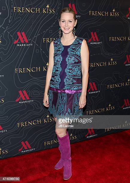 Megan Dodds attends the premiere of 'French Kiss' at Marina del Rey Marriott on May 19 2015 in Marina del Rey California