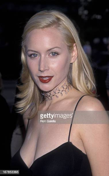 Megan Dodds attends the premiere of The Rat Pack on August 18 1998 at the Academy Theater in Beverly Hills California