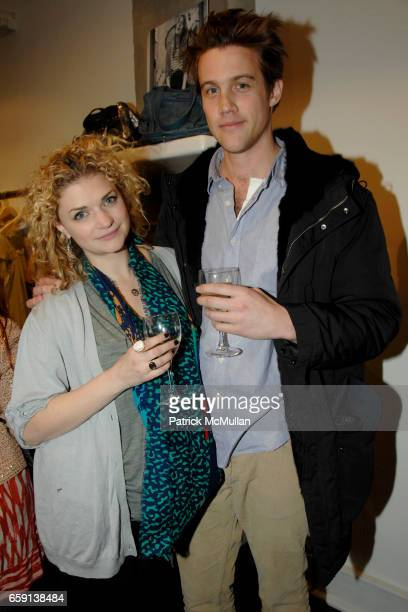 Megan Ferguson and Nico EversSwindell attend JEROME DREYFUSS Fall/Winter 2009 Collection at LUDIVINE Uptown at Boutique Ludivine on February 19 2009...