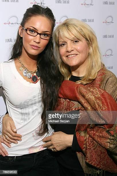 Megan Fox and Sonya Dakar