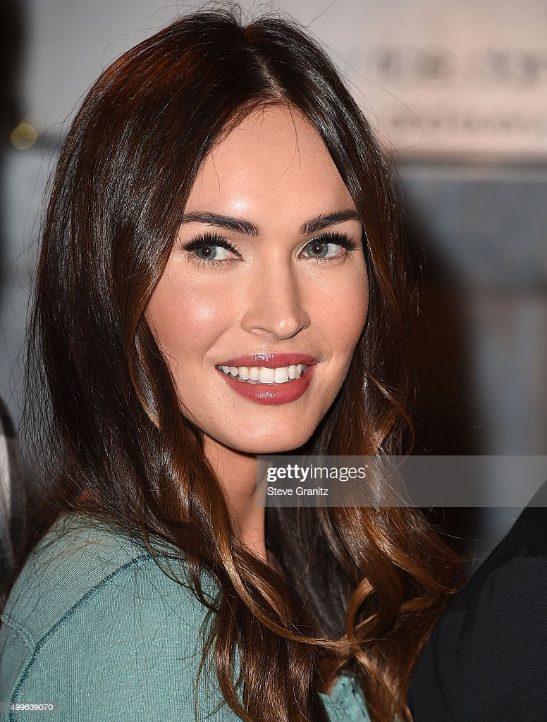 Megan Fox arrives at the FOX's 'New Girl' 100th Episode Cake-Cutting at Fox Studio Lot on December 2, 2015 in Century City, California.