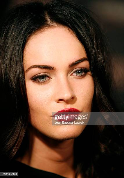 Megan Fox arrives at the 'Jennifer's Body' ComicCon Party at Manchester Grand Hyatt on July 23 2009 in San Diego California