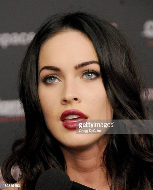 "Megan Fox arrives at the MySpace + IGN Celebration of ""Jennifer's Body"" at the Manchester Grand Hyatt in San Diego, California on July 23, 2009."