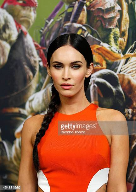 Megan Fox arrives at the Sydney Special Event Screening of 'Teenage Mutant Ninja Turtles' at The Entertainment Quarter on September 7 2014 in Sydney...