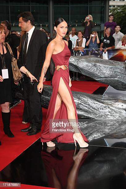 Megan Fox at the Premiere Of Germany movie Transformers Revenge of the Fallen at Potsdamer Platz in Berlin