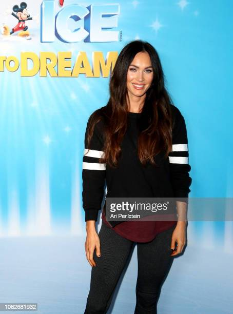 Megan Fox attends Disney On Ice Presents Dare to Dream Celebrity Skating Party at Staples Center on December 14 2018 in Los Angeles California
