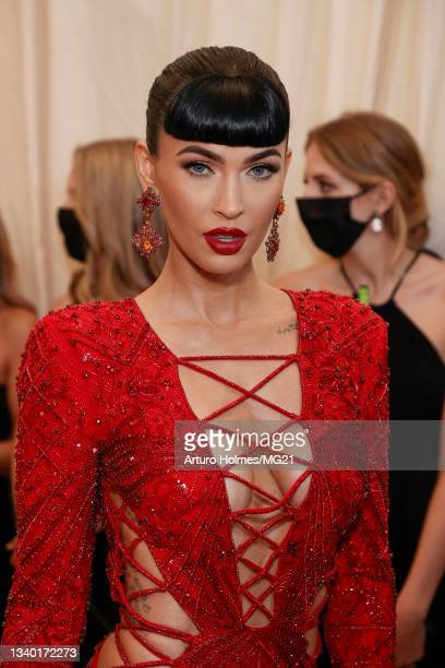 Megan Fox attends The 2021 Met Gala Celebrating In America: A Lexicon Of Fashion at Metropolitan Museum of Art on September 13, 2021 in New York City.