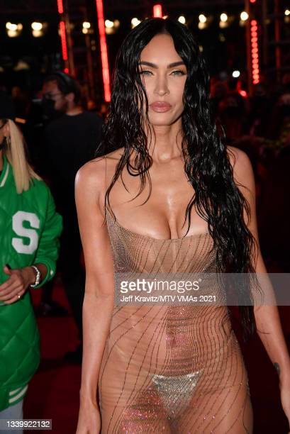 Megan Fox attends the 2021 MTV Video Music Awards at Barclays Center on September 12, 2021 in the Brooklyn borough of New York City.