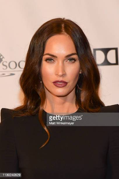 Megan Fox attends the 55th Annual Cinema Audio Society Awards at InterContinental Los Angeles Downtown on February 16 2019 in Los Angeles California