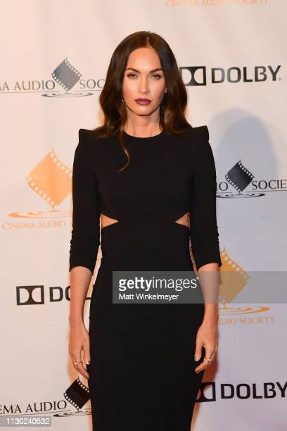 Megan Fox attends the 55th Annual Cinema Audio Society Awards at InterContinental Los Angeles Downtown on February 16, 2019 in Los Angeles,...