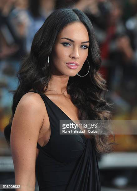 Megan Fox attends the premiere of Transformers Revenge Of The Fallen at Odeon Leicester Square