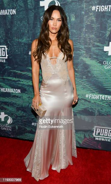 Megan Fox attends the PUBG Mobile's #FIGHT4THEAMAZON Event at Avalon Hollywood on December 09 2019 in Los Angeles California