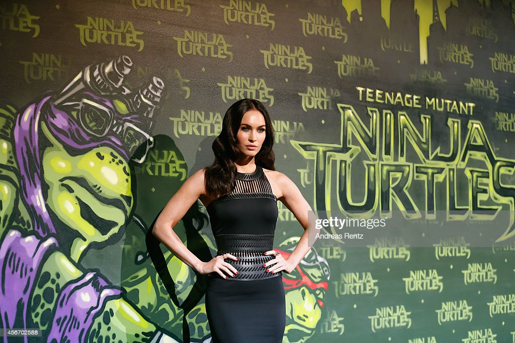 Megan Fox attends the Underground Event Screening of Paramount Pictures' 'TEENAGE MUTANT NINJA TURTLES' at UFO Sound Studios on October 5, 2014 in Berlin, Germany.