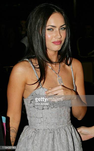 Megan Fox during 'Transformers' Sydney Premiere at Hoyts Entertainment Quarter 213 Bent Street Moore Park in Sydney NSW Australia