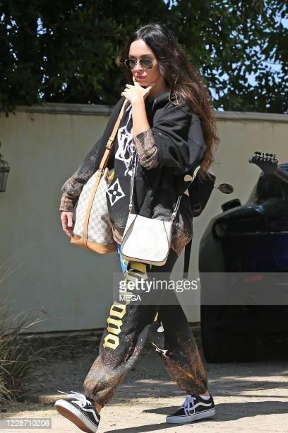 Megan Fox is seen on September 25, 2020 in Los Angeles, California.