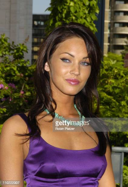 Megan Fox of 'Hope and Faith' during 2005/2006 ABC UpFront at Lincoln Center in New York City New York United States