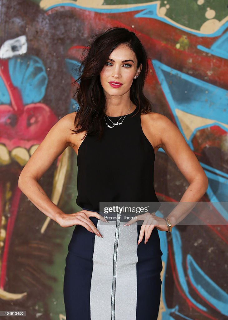 Megan Fox poses during a photo call for the 'Teenage Mutant Ninja Turtles' at Paddington Reservoir on September 8, 2014 in Sydney, Australia.