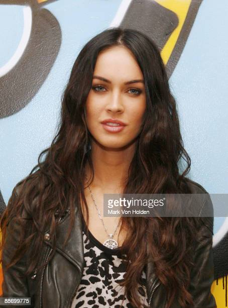 Megan Fox visits fuse's 'No 1 Countdown' at the fuse Studios on June 26 2009 in New York City