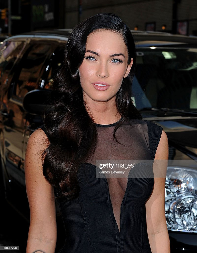 Megan Fox visits 'Late Show With David Letterman' at the Ed Sullivan Theater on June 25, 2009 in New York City.