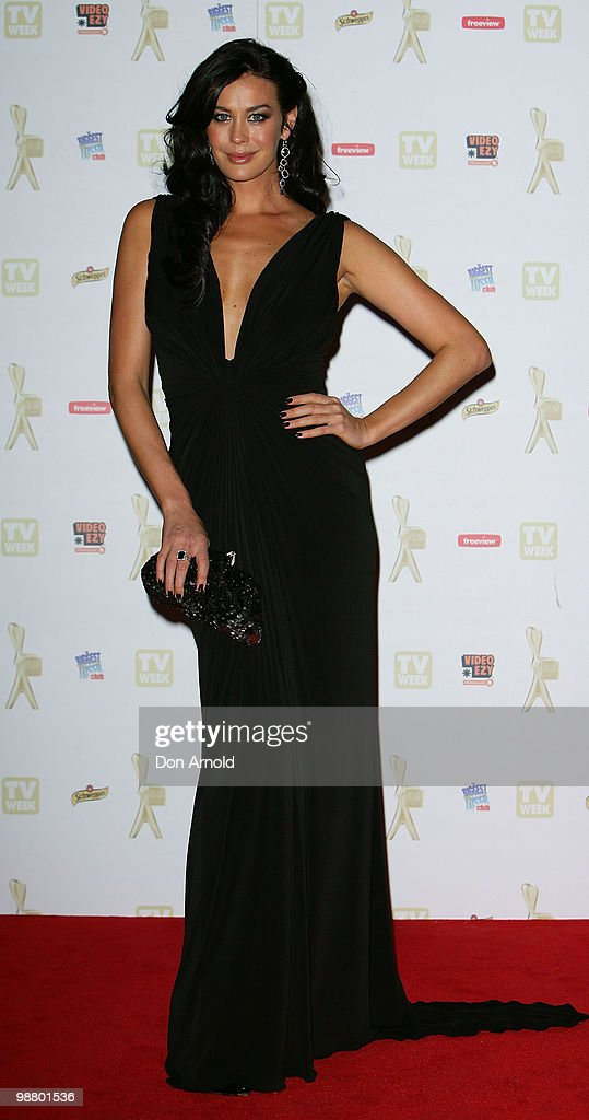 Megan Gale arrives at the 52nd TV Week Logie Awards at Crown Casino on May 2, 2010 in Melbourne, Australia.