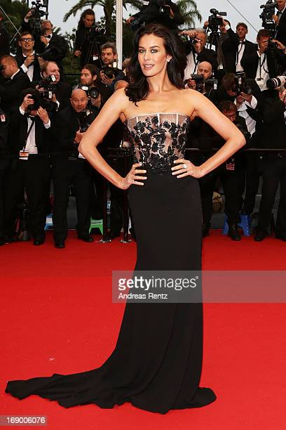 Megan Gale attends the 'Jimmy P ' Premiere during the 66th Annual Cannes Film Festival at the Palais des Festivals on May 18 2013 in Cannes France