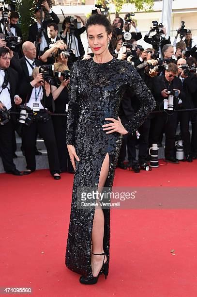 Megan Gale attends the 'Youth' Premiere during the 68th annual Cannes Film Festival on May 20 2015 in Cannes France