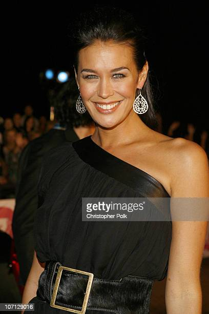 Megan Gale during MTV Australia Video Music Awards 2007 Red Carpet at Superdome in Sydney NSW Australia
