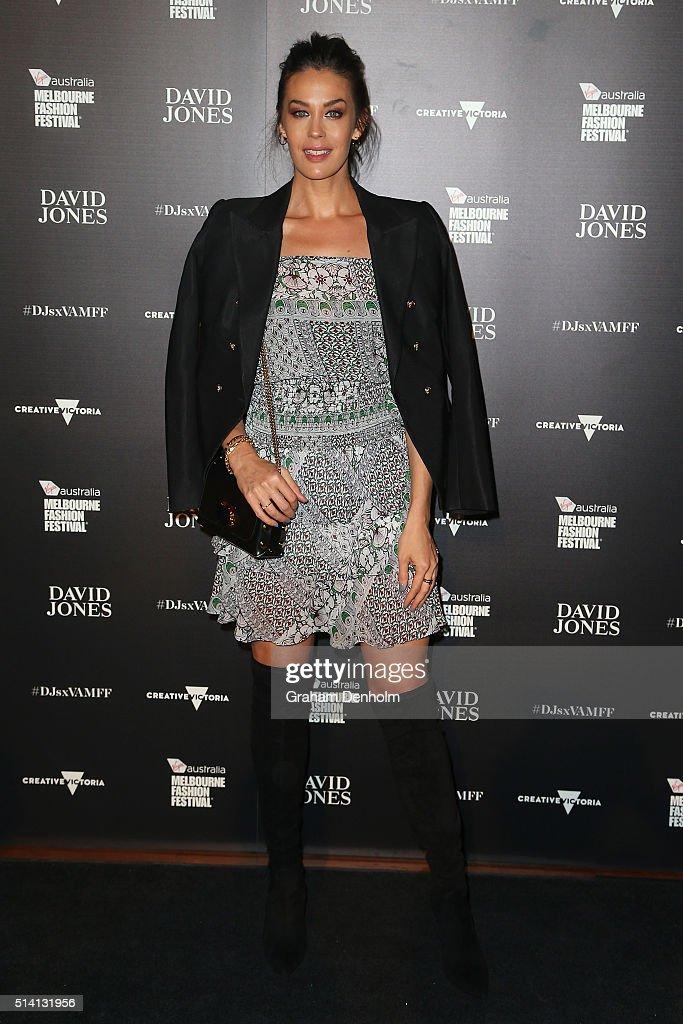 David Jones Opens Melbourne Fashion Festival 2016 - Arrivals