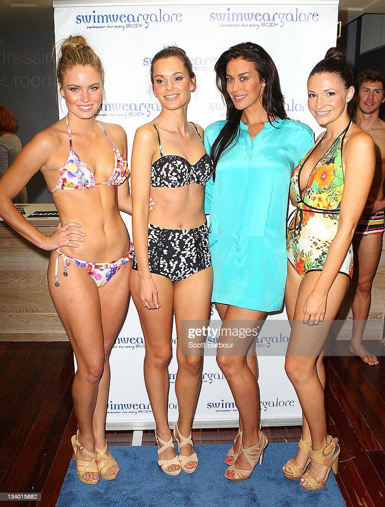 Megan Gale Launches Swimwear Store In Melbourne