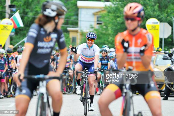 Megan Garner of USA wins the UCI Women's World Tour Philadelphia Cycling Classic on Sunday June 5th 2016 Procyclist compete at a 738miles/1187km...