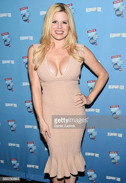Megan Hilty attends the 17th Annual Broadwaycom AudienceChoice Awards Cocktail Reception on May 10 2016 in New York New York