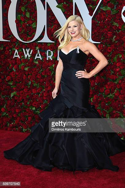 Megan Hilty attends the 70th Annual Tony Awards at The Beacon Theatre on June 12 2016 in New York City