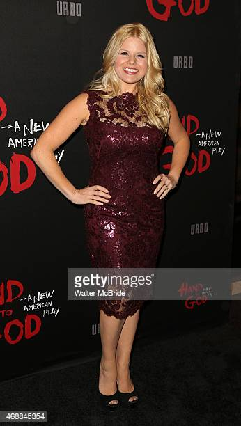 Megan Hilty attends the Broadway Opening Night performance of 'Hand To God' at The Booth Theatre on April 7 2015 in New York City