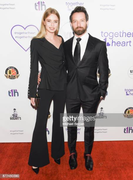 Megan Irminger and Ian Bohen attend 2017 Voices For Change Awards at Viva Hollywood on November 9 2017 in Hollywood California