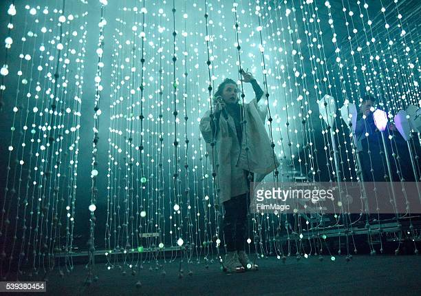 Megan James of Purity Ring performs onstage at The Other Tent during Day 2 of the 2016 Bonnaroo Arts And Music Festival on June 10, 2016 in...