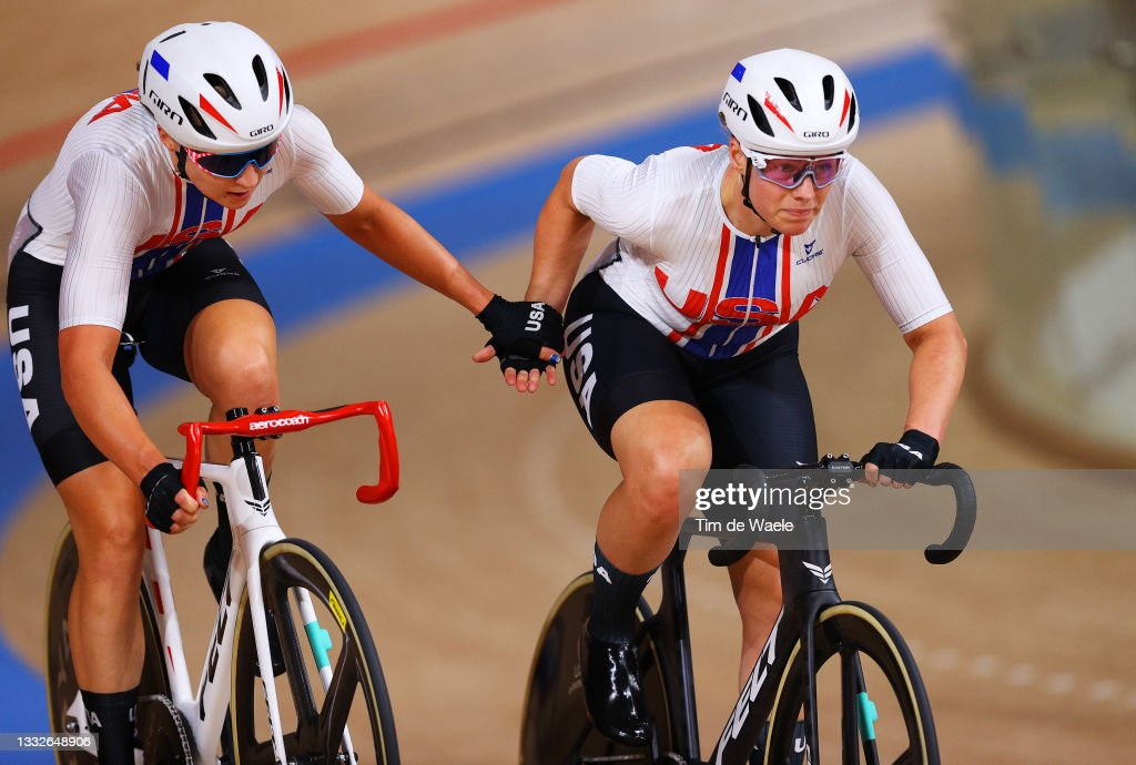 Megan Jastrab and Jennifer Valente of Team United States compete... News Photo - Getty Images